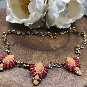 J. Crew Factory Crest Necklace